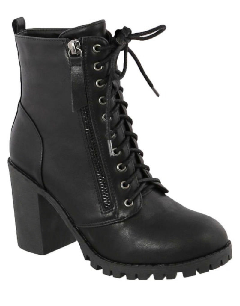 Michi Lace Up Bootie