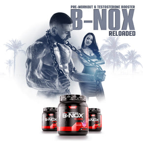 B-NOX® Reloaded  The Original Pre-Workout + Testosterone Booster