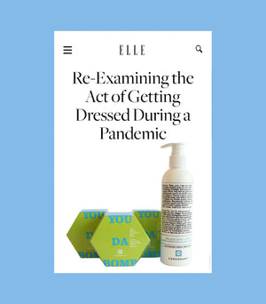 Elle Canada: Re-Examining the Act of Getting Dressed During a Pandemic