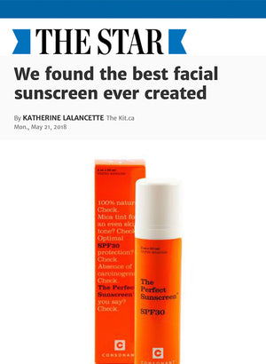 The Toronto Star: We found the best facial sunscreen ever created