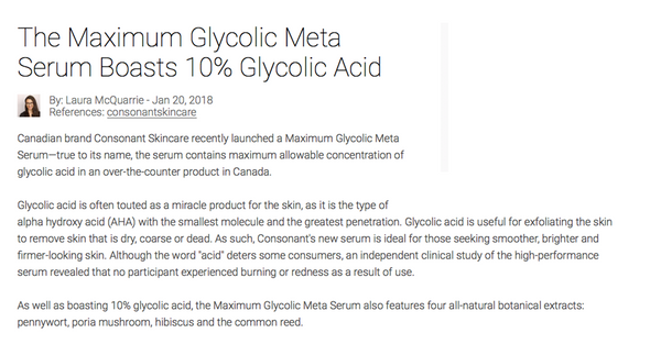maximum glycolic serum