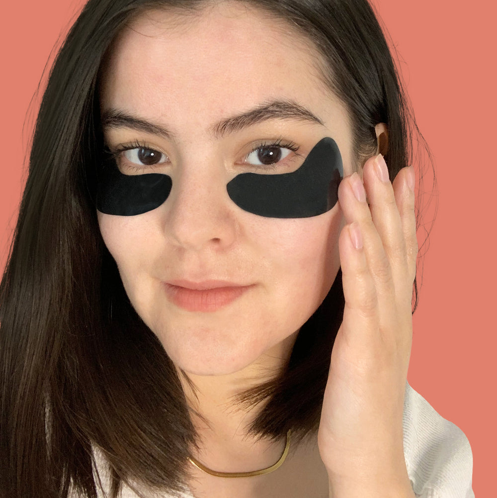 Reusable silicone eye mask