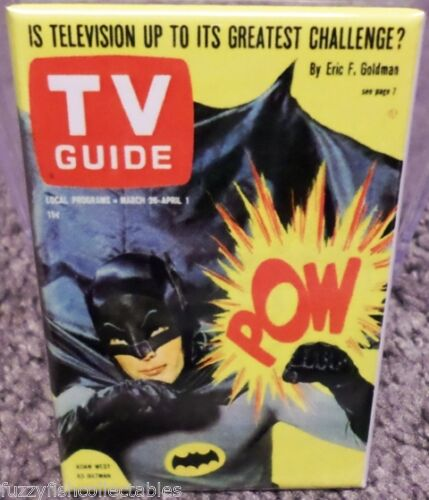 "Batman TV Guide 2""x3"" Magnet"