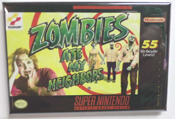 "Zombies Ate My Neighbors 2""x3"" Magnet"
