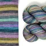 Winter Solstice Bamboo blend Sock Yarn 400M