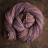 Woolen Hand Spun Chunky Singles Hans Dyed Border Leicester 135g/150M