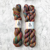 Winter Rainbow Luxury SW Merino Silk and Yak 100g 366M