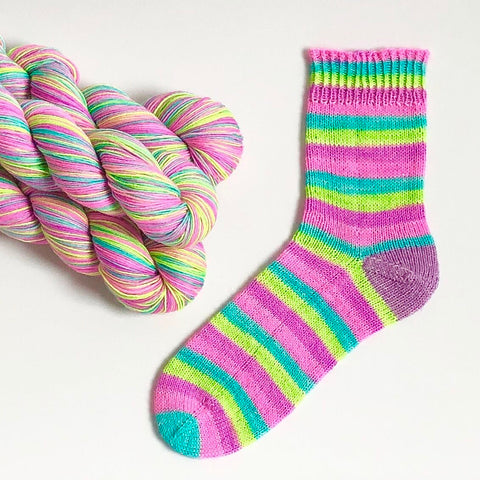 Stripes For All: Surfs Up Self Striping Sock Yarn 100g 400m