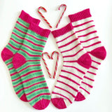 Peppermint Elf Self Striping Sock Yarn Set