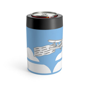 Kiss the Sky Can/bottle holder - Light Blue