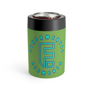 FE Logo Can/bottle holder - Lime Green