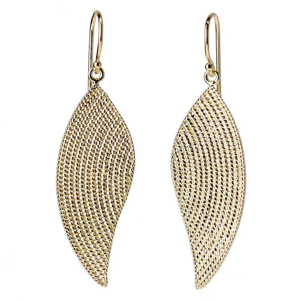 Angel Wing Rope Earrings