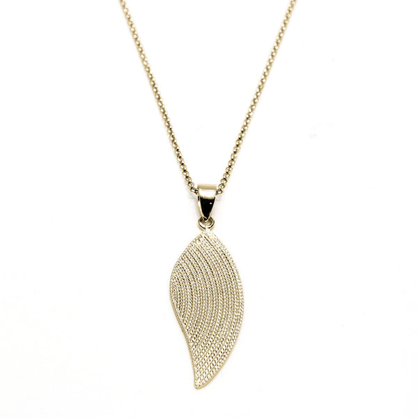 Angel Wing Rope Pendant