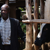 Andre, a leader within his community & a promoter farmer in Musasa