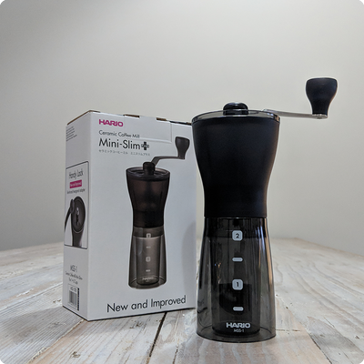 Hario Mini Mill PLUS Grinder - Moon Roast Coffee