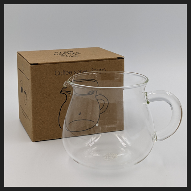 Kinto 02 Glass Coffee Server