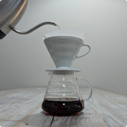 Hario V60 02 Glass Server - Moon Roast Coffee