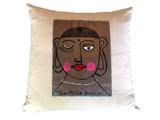Buddha Decor Pillow