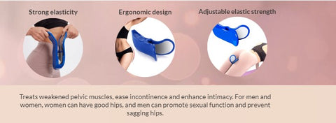 The MyGreatBody Hip Trainer is highly elastic and ergonomically designed.