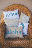 Aloha Beaded Text