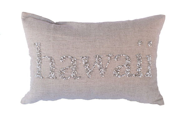 Hawaii Beaded Text