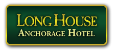 LONG HOUSE ALASKAN LODGE $119.00 CERTIFICATE VALID FOR (1) NIGHT STAY IN A GRAND DELUXE WITH 2 KING BEDS OR GRANDE SUITE.