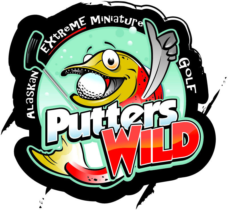 PUTTERS WILD - $44.00 GIFT CERTIFICATE VALID FOR 4 PEOPLE 4 GAMES (18 HOLES) OF MINI GOLF