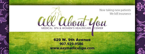 ALL ABOUT YOU $100.00 GIFT CERTIFICATE VALID TOWARDS IPL (INTENSE PULSED LIGHT THERAPY)