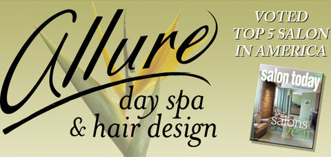 ALLURE $50.00 GIFT CERTIFICATE VALID FOR ALL PRODUCTS AND SERVICES.