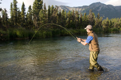 KENAI MAGIC LODGE $2220.86 CERTIFICATE VALID FOR 2 DAYS OF GUIDED SALMON FISHING, 3 NIGHTS LODGING FOR 2 PEOPLE (MEALS NOT INCLUDED, BASED ON AVAILABILITY)