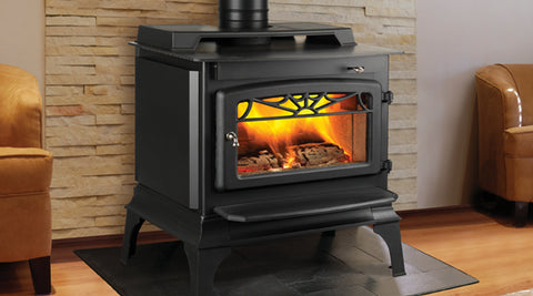 ALASKA STOVE & SPA $1570.00 CERTIFICATE VALID FOR WINDSOR CLASSIC WOODSTOVE PACKAGE. FLAT TOP WITH PEDESTAL.