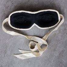 Load image into Gallery viewer, Contoured sleep mask, Peace Silk