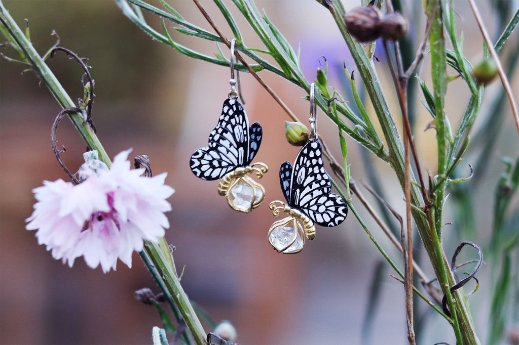 Butterfly Earrings - Handmade - Fair Fashion