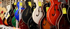 Hollowbody Archtop Guitars