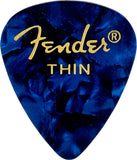 Fender 351 Premium Celluloid Guitar Picks 12 pack - Dr. Guitar Music - 2