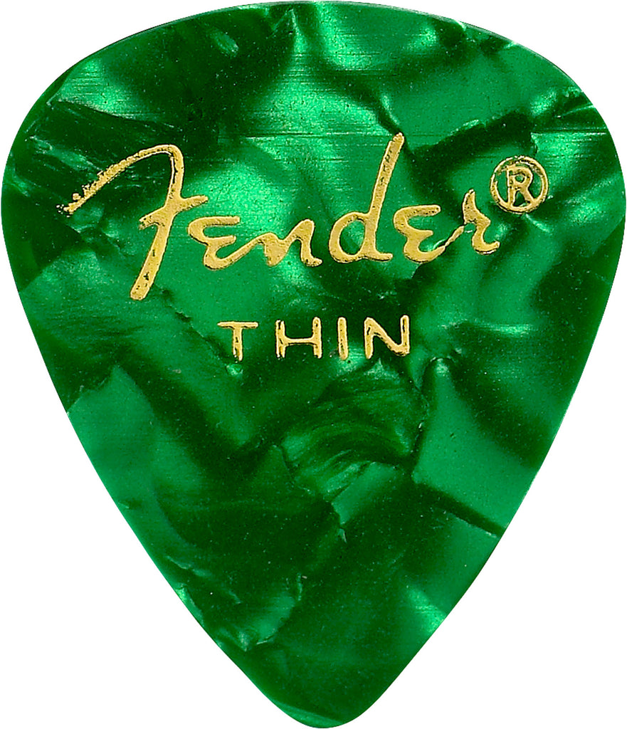 Fender 351 Premium Celluloid Guitar Picks 12 pack - Dr. Guitar Music - 6