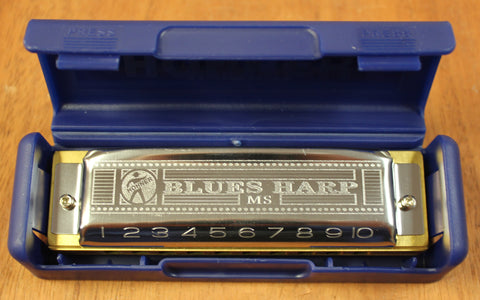 Hohner Blues Harp 532 MS 10 Hole Diatonic Harmonica