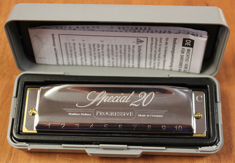 Hohner Special 20 Diatonic 10 hole Harmonica