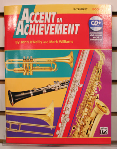 Accent on Achievement Bb Trumpet Book 2 Band Method w/CD