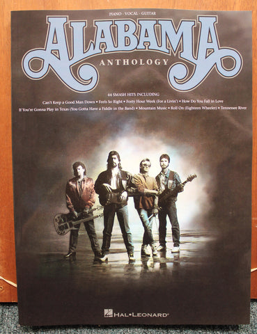 Alabama Anthology Piano Vocal Guitar Songbook
