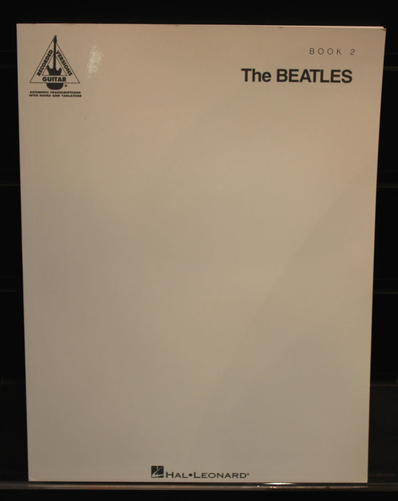 The Beatles (The White Album) - Book 2 Songbook (Guitar Recorded Versions)