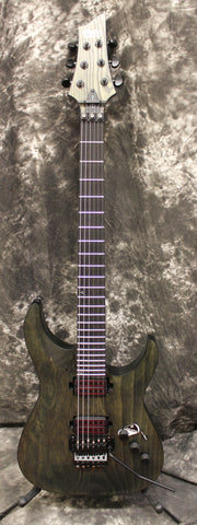 Schecter C-1 FR Apocalypse with Floyd Rose Electric Guitar Rust Gray