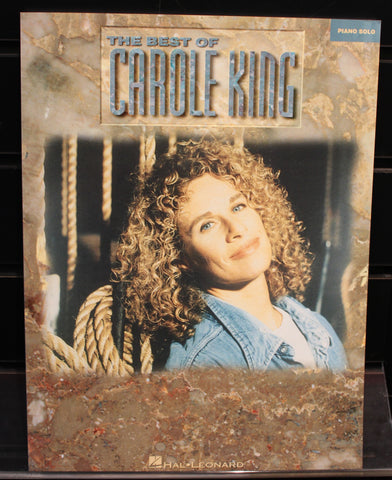 Best of Carole King Piano Solo Songbook
