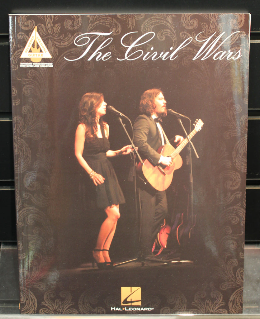 The Civil Wars Guitar Recorded Versions Softcover Tab Songbook Dr