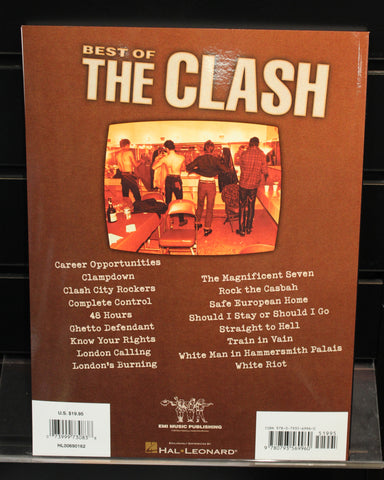 Best of The Clash Guitar Recorded Versions TAB Songbook – Dr. Guitar ...
