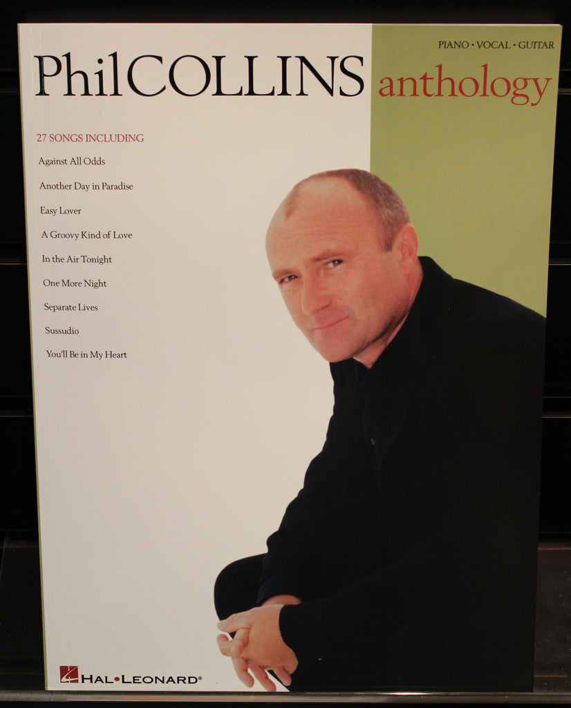 Phil Collins Anthology Pianovocalguitar Artist Songbook Dr
