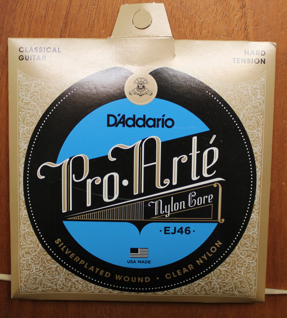 D'Addario EJ46 Pro-Arté Nylon Hard Tension Classical Guitar Strings - Dr. Guitar Music, Watertown, NY 315-782-3604