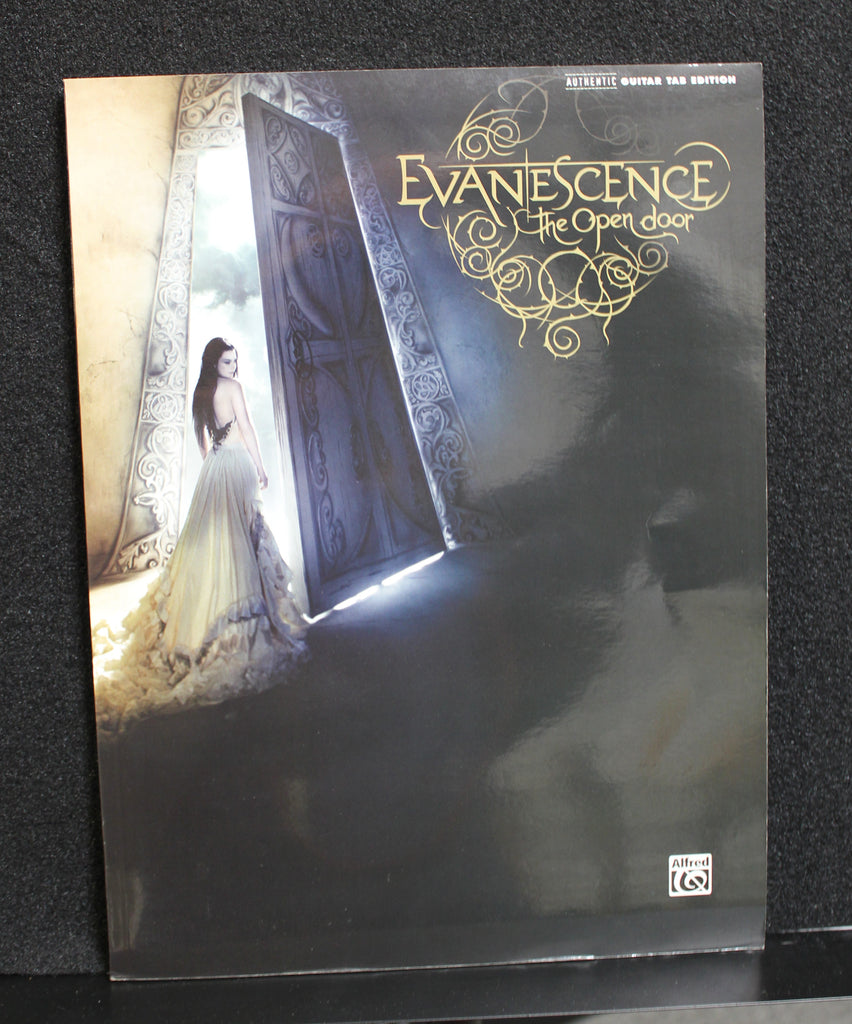 Evanescence The Open Door Authentic Guitar Tab Songbook Dr