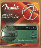 Fender GT-1000 Green Kinetic Tuner - Dr. Guitar Music - 1