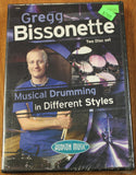 Gregg Bissonette – Musical Drumming in Different Styles Instructional DVD Set - Dr. Guitar Music - 1